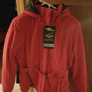 Selling xl red coat brand new with tags